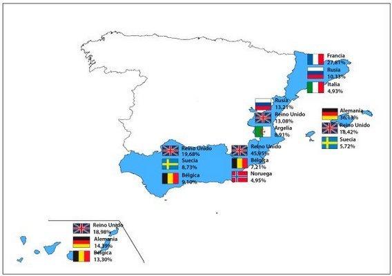 Инвестиции иностранцев в недвижимость Испании