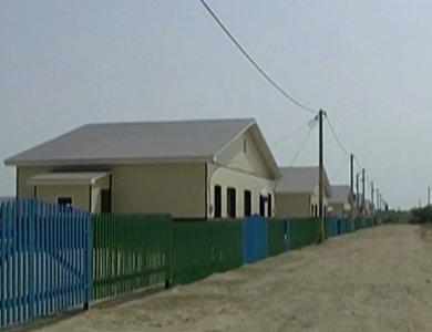 На Дальнем Востоке продолжают строить дома, для жителей пострадавших во время летнего наводнения 2013 года.