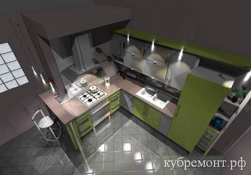PRO100 - дизайн кухни