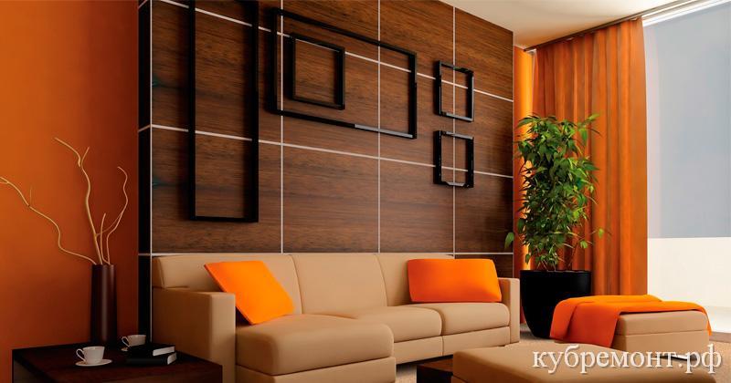 Варианты отделки стен в квартире - панели